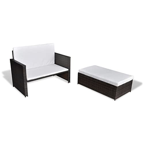 vidaXL Sofa mit Bettfunktion
